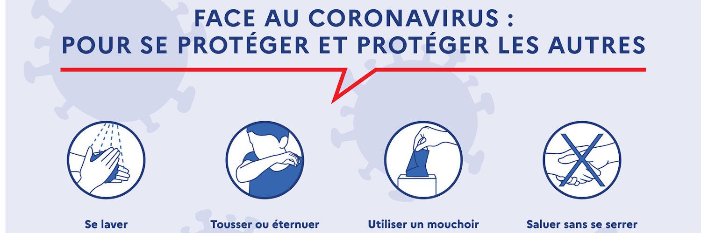Coronavirus, fermeture excptionnelle